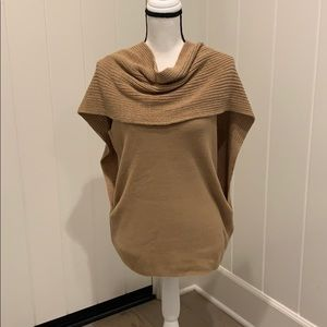 Chicos Sleeveless Cowl Sweater Top